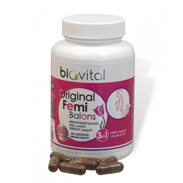 Femi balans Biovital 60 kapsula