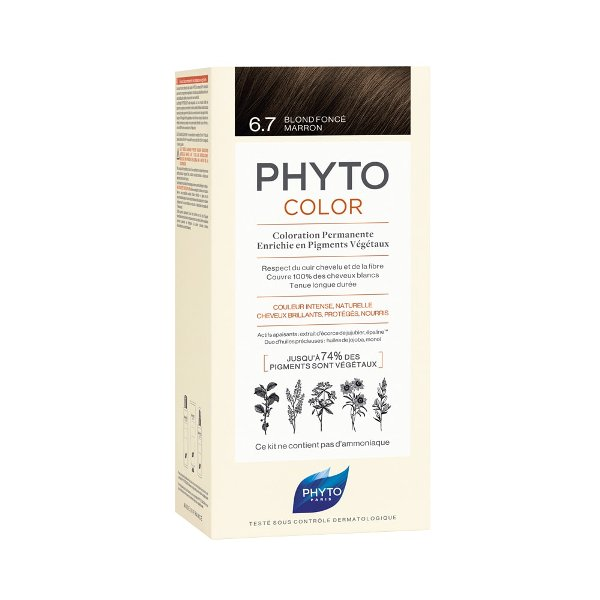 Phytocolor farba za kosu 6.7- dark chestnut blonde