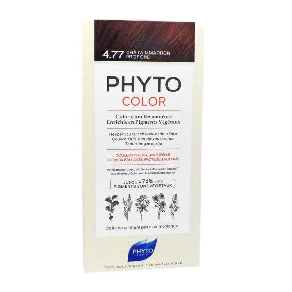 Phytocolor farba za kosu 4.77- intense chestnut brown