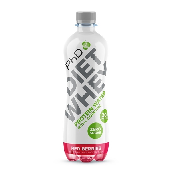 Phd Diet Whey proteinska voda red berries 500ml
