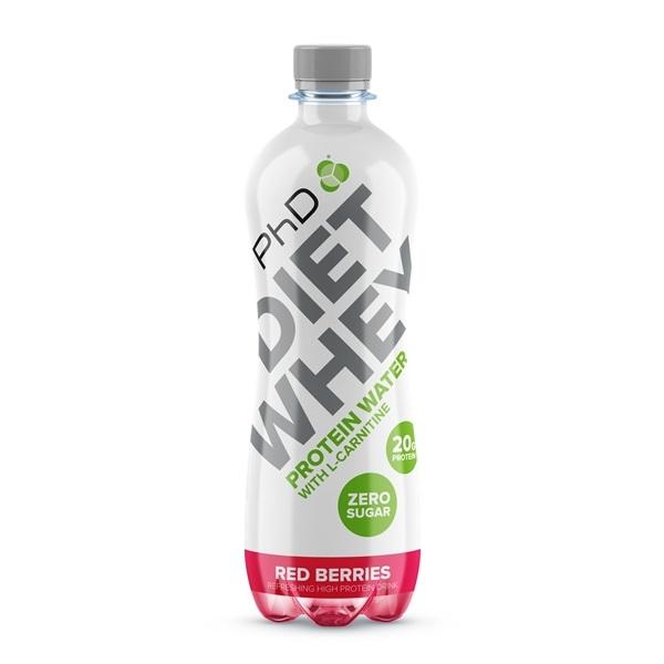 Phd Diet Whey proteinska voda red berries 500ml