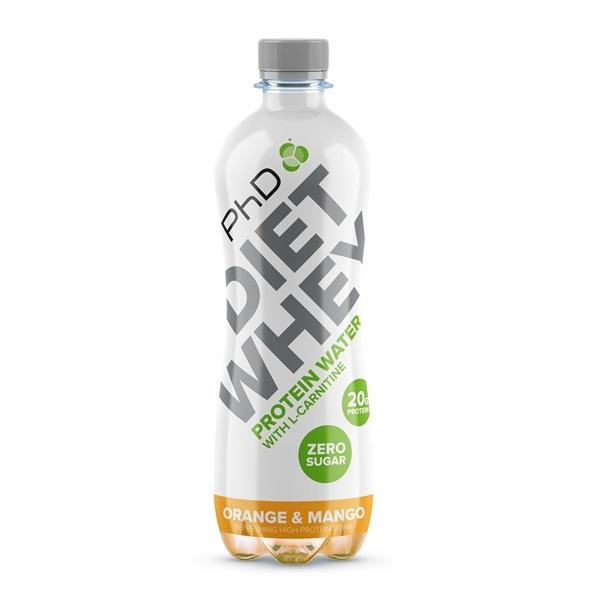 Phd Diet Whey proteinska voda pomorandža mango 500ml