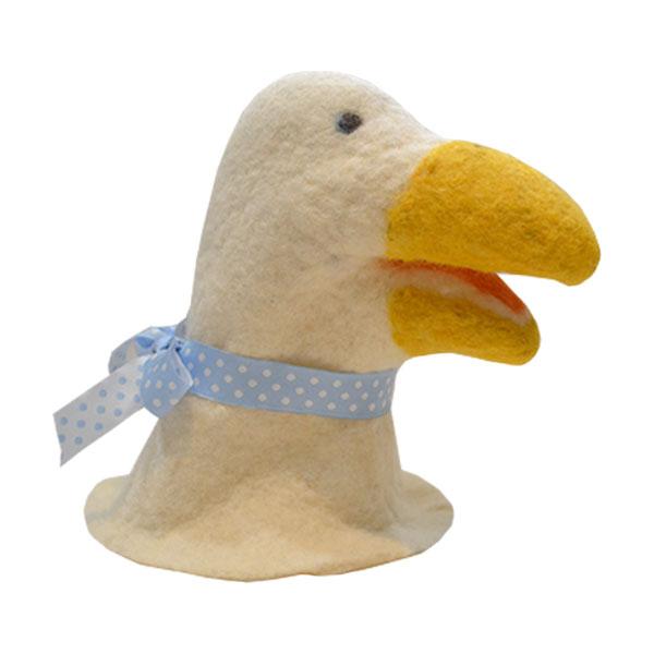 Igračka od pustovane vune - patka