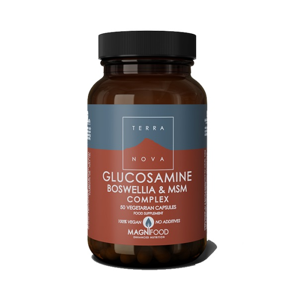 Terranova  Glukozamin, bosvelija i MSM kompleks 50 kapsula