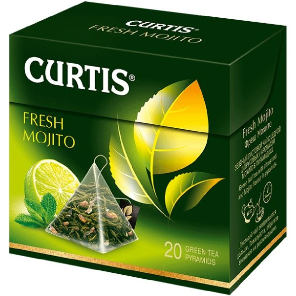 Curtis Fresh Mojito - zeleni aromatizovani čaj 20 kesica
