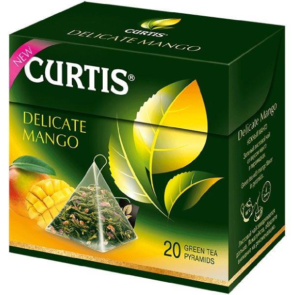 Curtis Delicate Mango - zeleni aromatizovani čaj 20 kesica