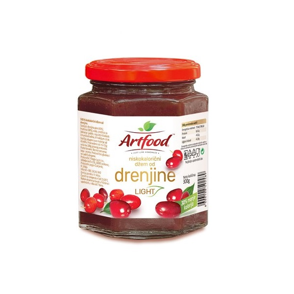 Džem od drenjina  light Artfood 300g