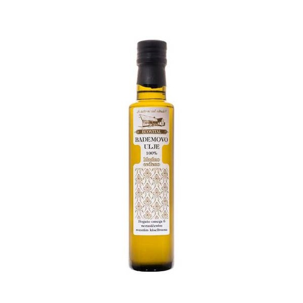 Bademovo ulje hladno ceđeno Ecovital 100ml