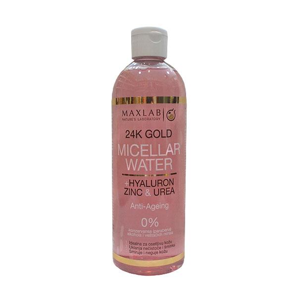 Maxlab Micelarna voda sa 24k zlatom i hijaluronom 500ml
