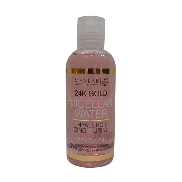 Maxlab Micelarna voda sa 24k zlatom i hijaluronom 100ml