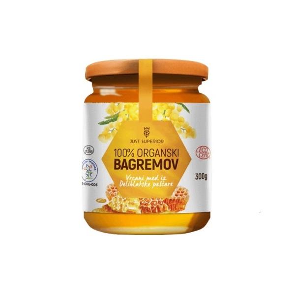 Bagremov med organic Just Superior 300g