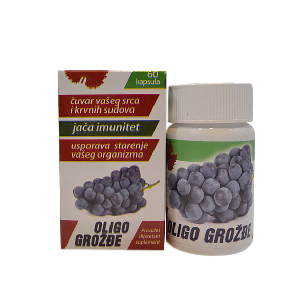 Oligo grožđe 60 kapsula