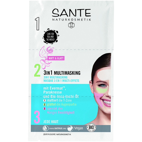 Sante Multimaska za lice 3u1  9ml NOVO