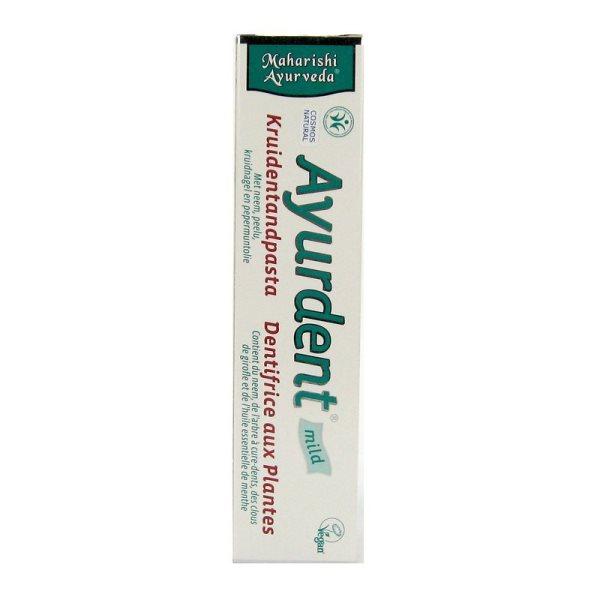 Ayurdent zubna pasta mild-blaga 75ml