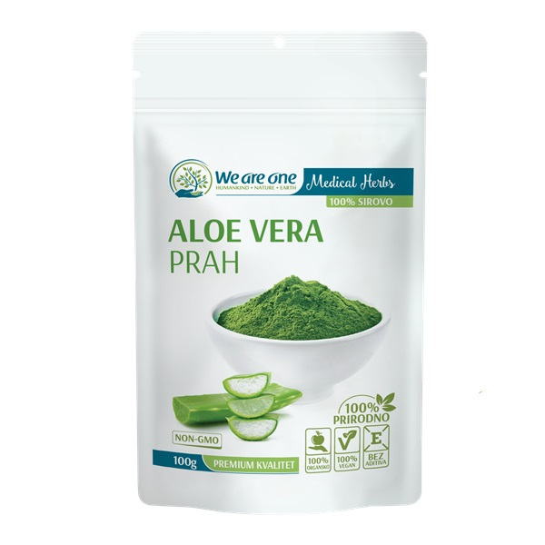 Aloja vera prah organic We are one 100g