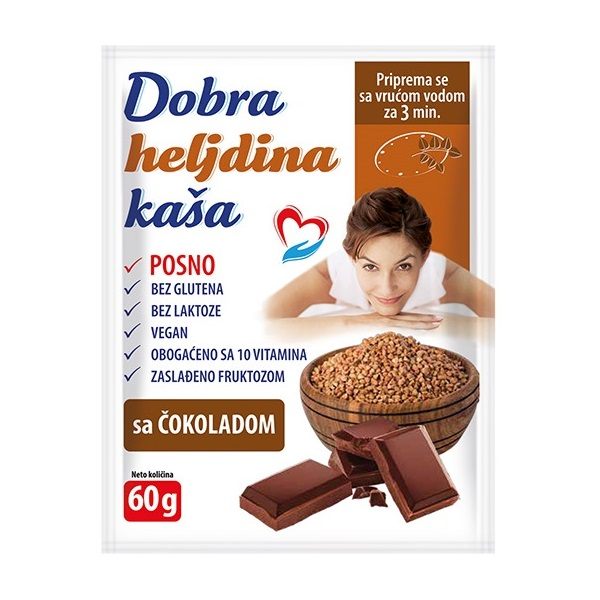 Dobra heljdina kaša sa čokoladom 60g