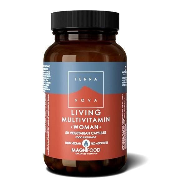 Terranova Living Multivitamin za žene 50 kapsula