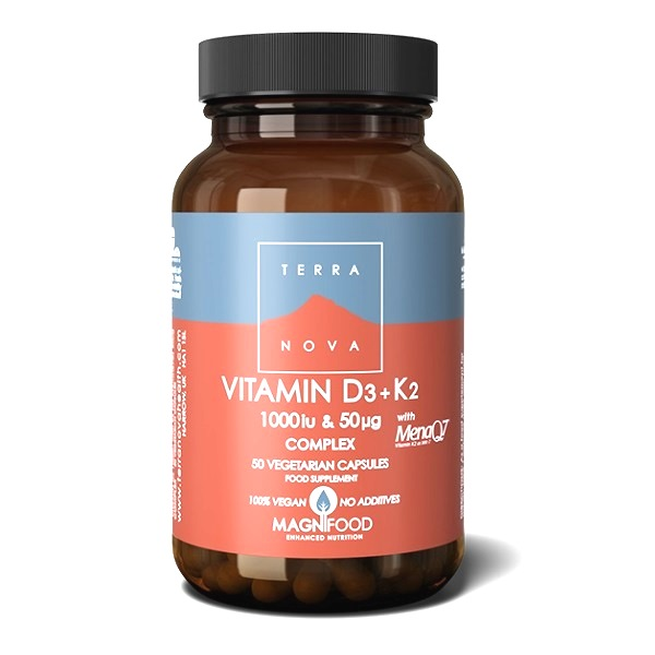 Terranova Vitamin D3 sa K2 50 kapsula