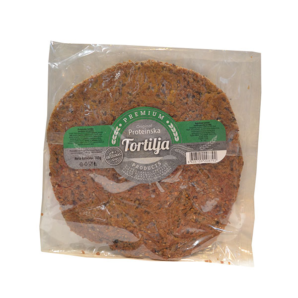 Original proteinska tortilja 145g