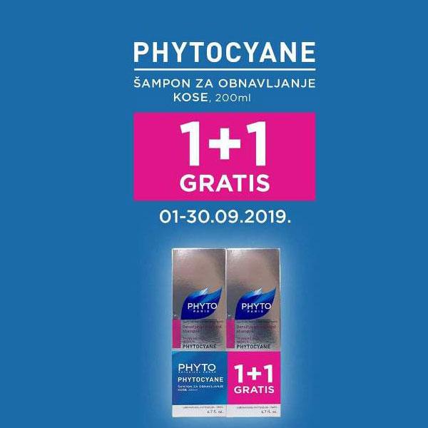 PHYTOCYANE PROMO ŠAMPON ZA KOSU 1+1 GRATIS