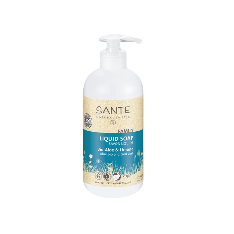 Sante Family tečni sapun bio aloja i limun 200ml