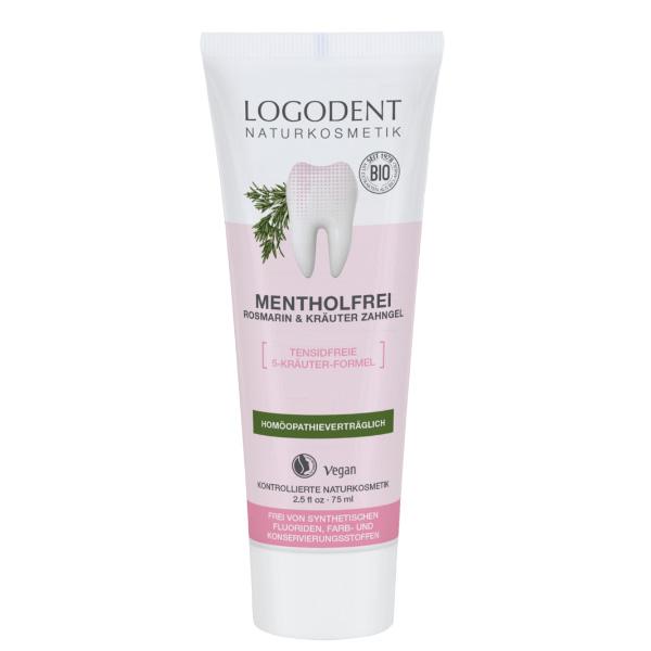 Logona pasta za zube ruzmarin&žalfija-bez mentola 75 ml