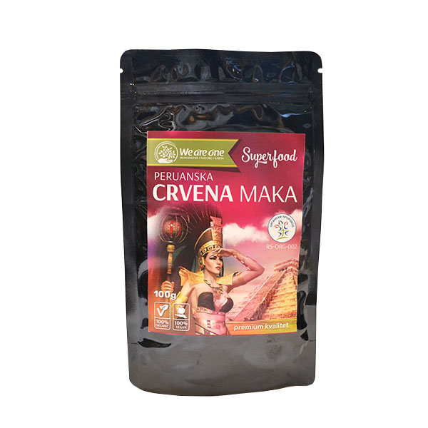 Crvena peruanska maka prah organic We are one100g