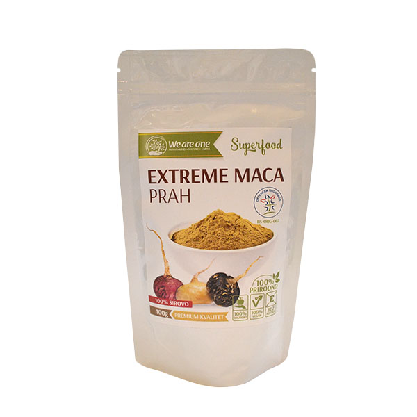 Extreme Maca prah organic We are one 100g