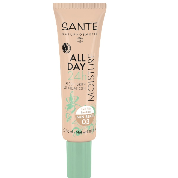 Sante  24h Fresh skin tečni puder 03- Sun beige 30ml