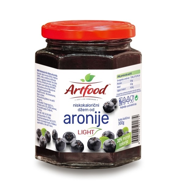 Džem od aronije light Artfood 300g