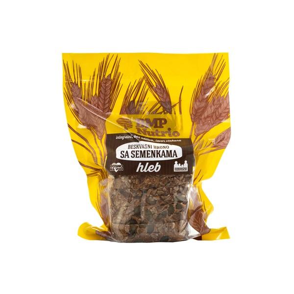 Hrono hleb sa semenkama bez kvasca BMP Nutrio 350g