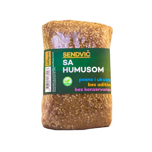 Humus sendvič  BMT Nutrio 180g