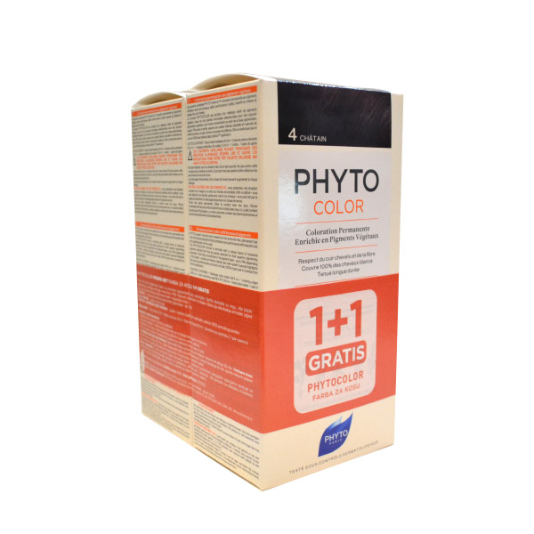 PhytoColor  4  boja za kosu  1+1gratis