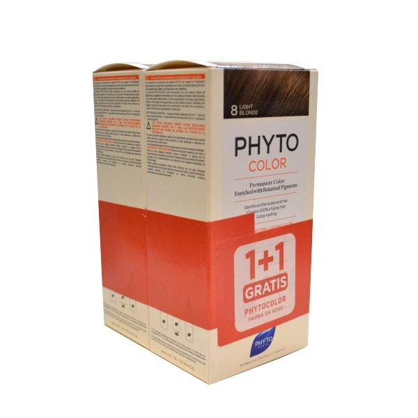 PhytoColor boja za kosu 8 - 1+1gratis