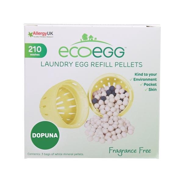 ECOEGG ekološki deterdžent za veš, neutralni miris-210 pranja (dopuna)