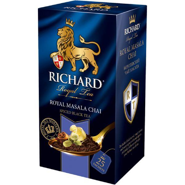RICHARD Royal Masala Chai - Crni čaj sa đumbirom, cimetom i aromom masala začina
