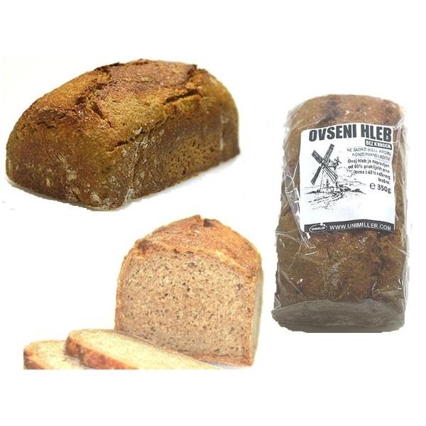 Beskvasni ovseni hleb Unimiller 350g
