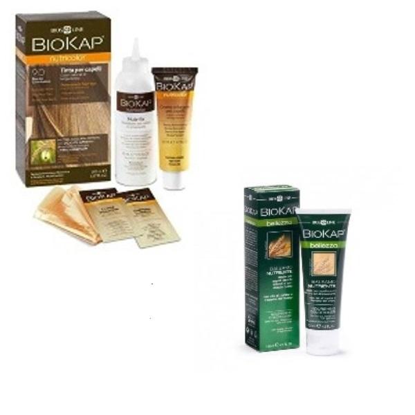 BioKap set Nutricolor 9.0+GRATIS Hranljivi balzam 125ml