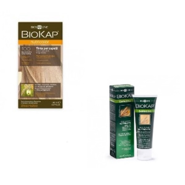 BioKap set Nutricolor 10.0+GRATIS Hranljivi balzam 125ml