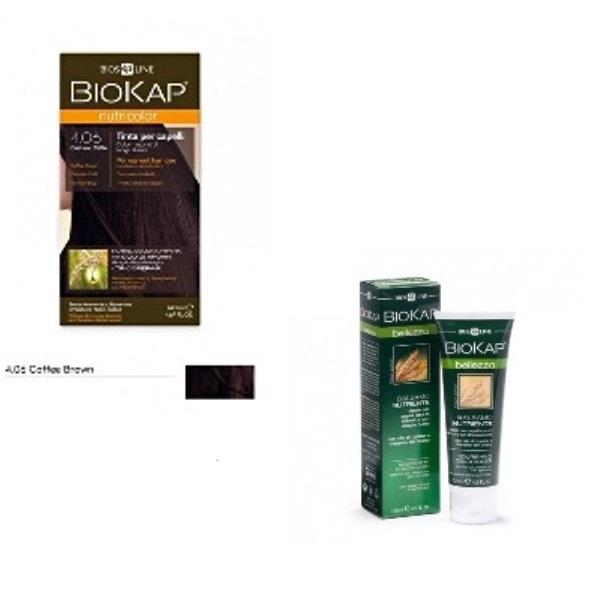BioKap set Nutricolor 4.06+GRATIS Hranljivi balzam 125ml