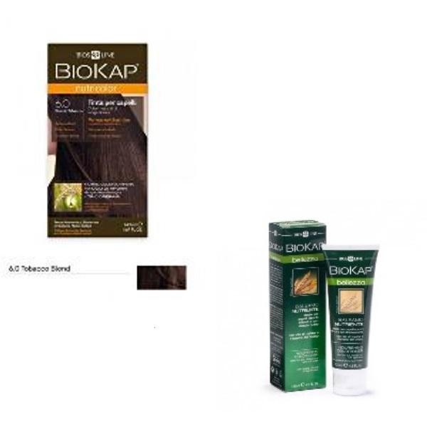 BioKap set Nutricolor 6.0+GRATIS Hranljivi balzam 125ml