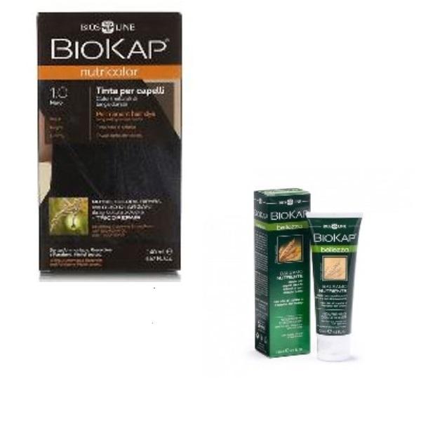 BioKap set Nutricolor 1.0+GRATIS Hranljivi balzam 125ml