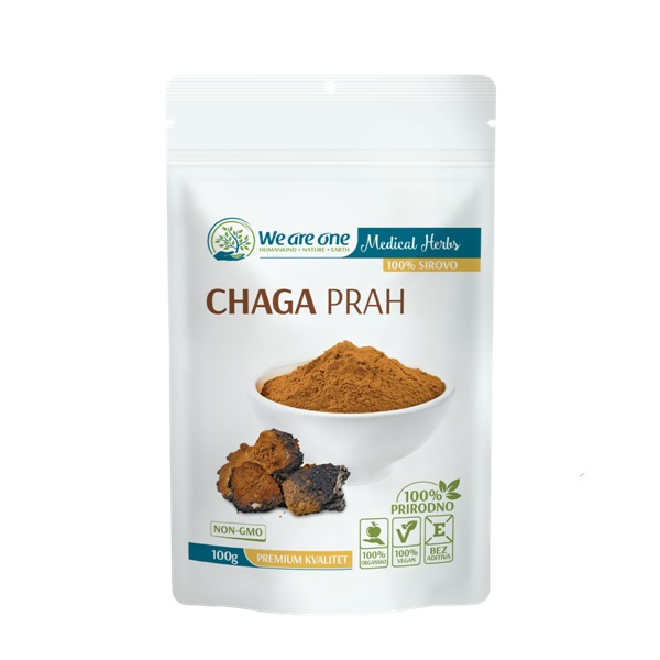 Chaga prah 100g We are one