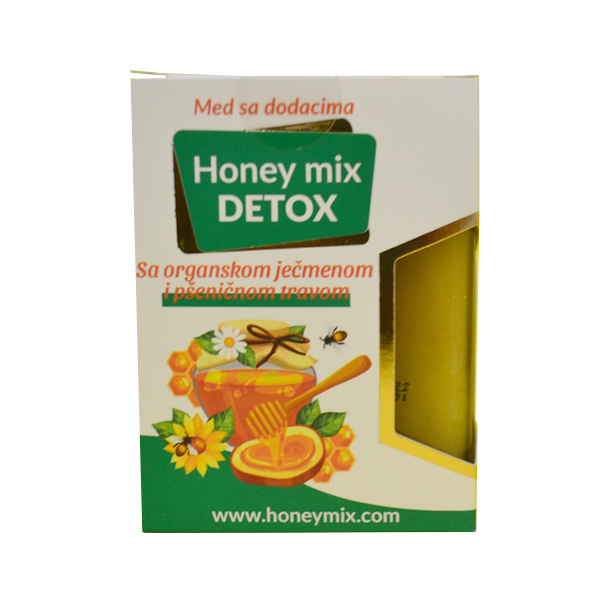 Honey mix Detox 250g Medomiks