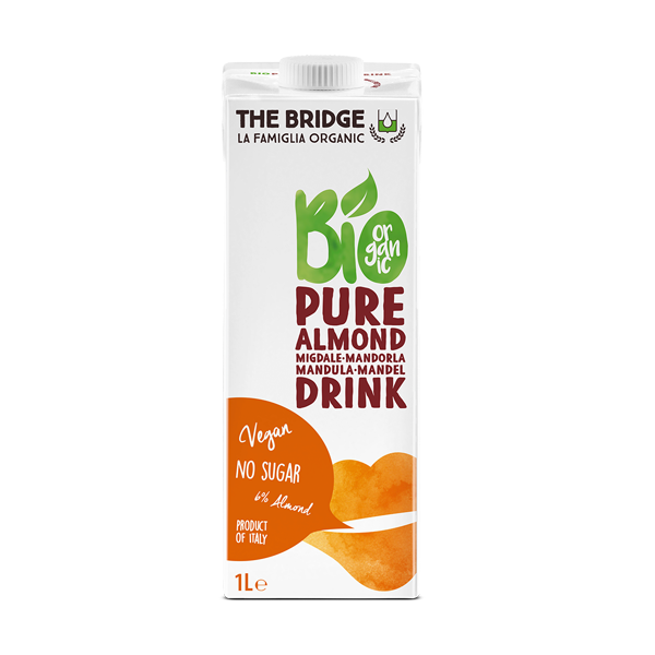 Bademovo mleko Pure The Bridge 1l