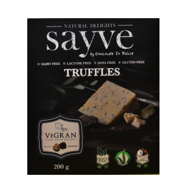 Vegran Truffles - proizvod sa leblebijama i tartufima Sayve 200g