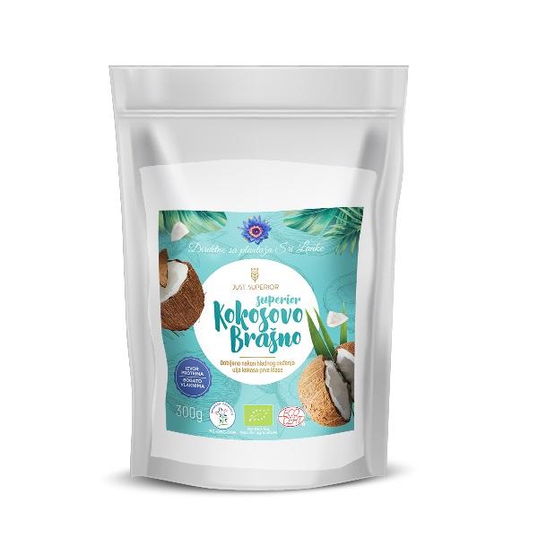 Kokosovo brašno organsko 300g Just superior
