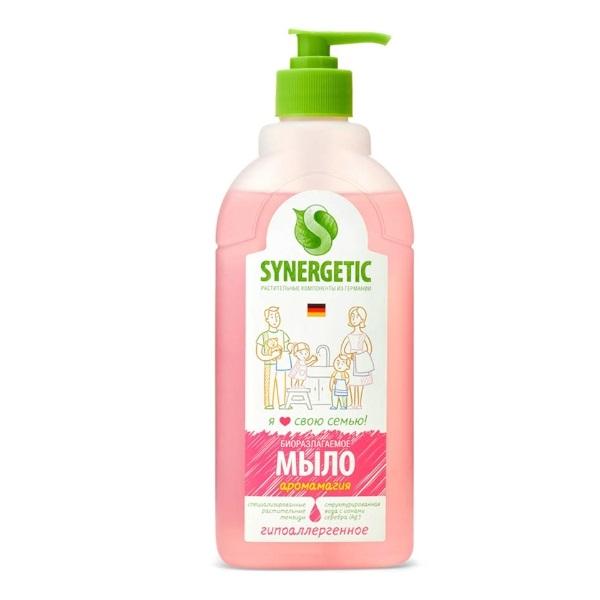 SYNERGETIC hipoalergijski tečni bio-sapun za ruke i telo Aromagija 0,5l