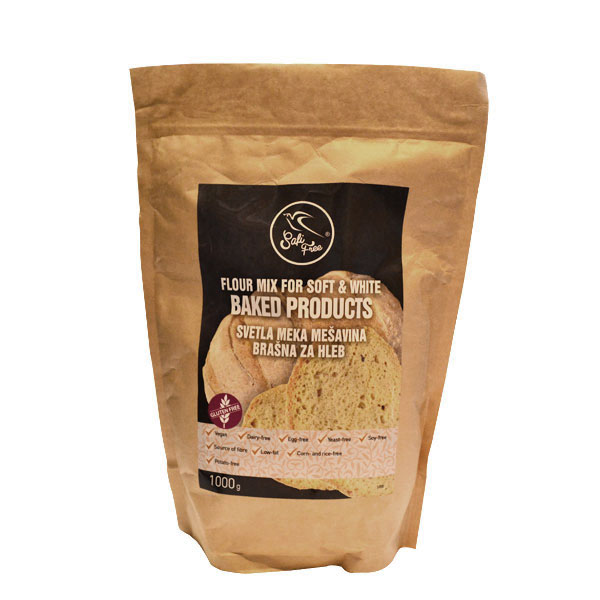Svetla meka mešavina brašna bez glutena Safi Reform 1kg