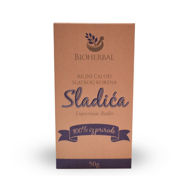 Čaj od korena sladića Bioherbal 50g